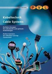 Kabeltechnik Cable Systems Perfekte Lösungen für individuelle und ...
