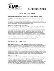 BACKGROUNDER - Vancouver Board of Trade