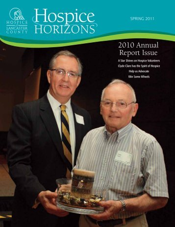 2010 Annual Report Issue - Hospice