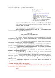 LC 323 - Sindicato dos Médicos do Estado de Santa Catarina