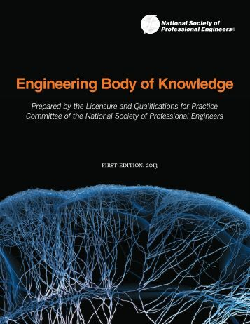 nspe-body-of-knowledge