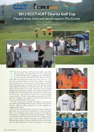 2012 ECCT-ICRT Charity Golf Cup - Community Services Center