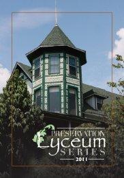 Lyceum Program Fall 2012 - Mentone / Fort Payne - Alabama Trust ...