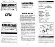 Lumenition Performance Ignition System Kit Instructions - Newtronic