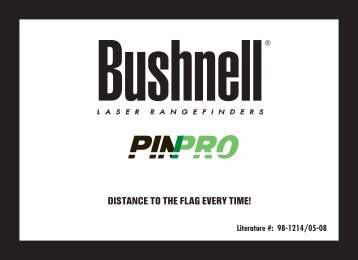DISTANCE TO THE FLAG EVERY TIME! - Bushnell Golf
