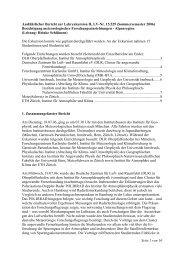 Ausführlicher Bericht zur Lehrexkursion II, LV-Nr. 15.529