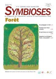Télécharger le Symbioses 72 (PDF 1,98 Mo)