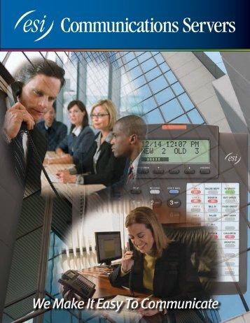 ESI Communications Servers - Pioneer Telephone Cooperative, Inc.