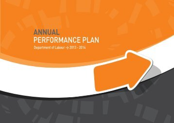 Annual Performance Plan- Department of Labour, 2013 - 2014