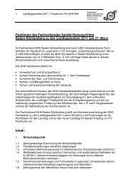 PositionLandtagswahlen 1 - Fachverband Sanitär Heizung Klima ...