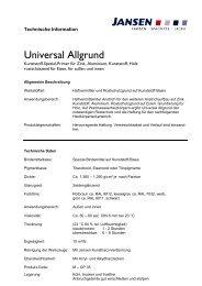 Universal Allgrund - Colourandclean.de