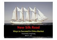 New Silk Road - Ivex