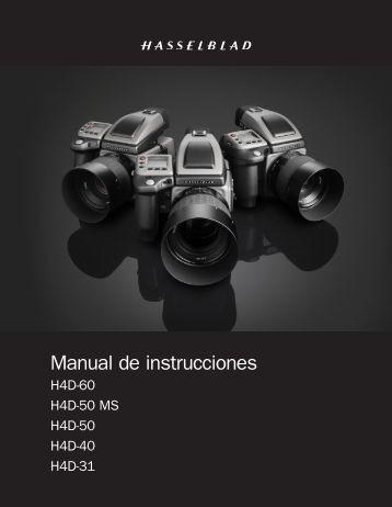 Manual de instrucciones - Hasselblad.jp