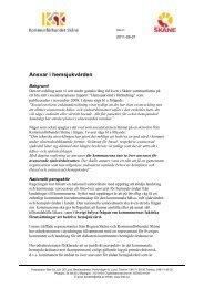 Ansvar i hemsjukvården - Kommunförbundet Skåne