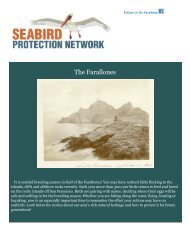 The Seabird Update - Gulf of the Farallones National Marine ...