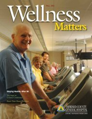 Staying Healthy After 50 - Johns Hopkins Medical Institutions