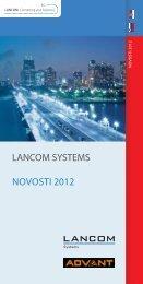 LANCOM Systems novosti 2012 (PDF) - ADVANT