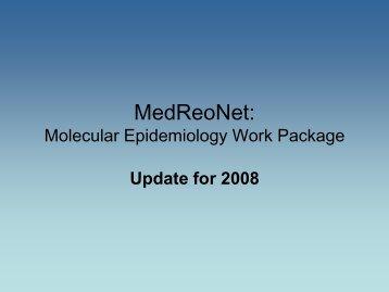 Molecular Epidemiology Work Package - Medreonet