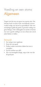 Voeding en een stoma - Dansac - Page 4