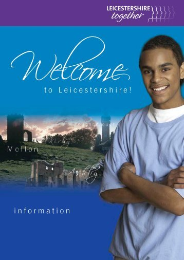 PDF Welcome Pack - Leicestershire Together