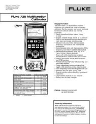 5320A Multifunction Electrical Tester Calibrator: Wide