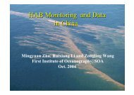HAB Monitoring and Data in China HAB Monitoring and ... - PICES