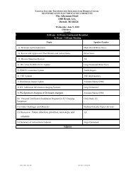 Infrastructure Working Council Meetings (Jun'10) - TEC Meeting ...
