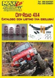 Fax +39.055.8348051 - Maxi Car Racing