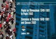 Popisi na Slovenskem 1948-1991 in Popis 2002 - Statistični urad ...