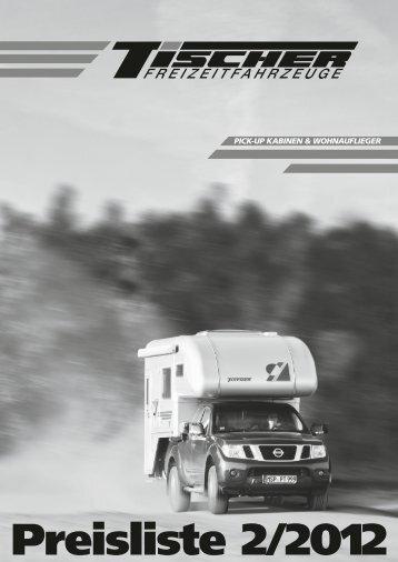 Preisliste 2/2012 - Tischer Freizeitfahrzeuge