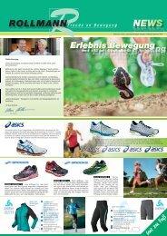 Rollmann News, einundzwanzigste Ausgabe Frühjahr/Sommer 2013
