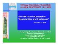 It is all - Vietnam Education Foundation