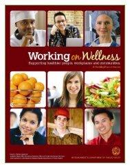Worksite Wellness Program Toolkit - Mass.Gov