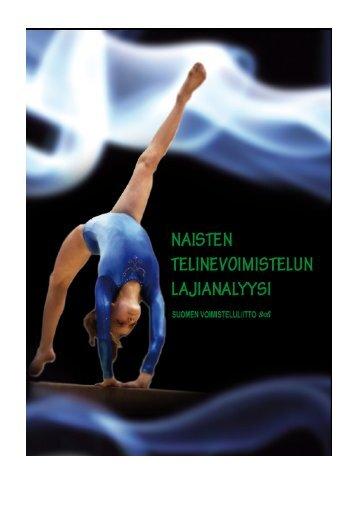 naisten telinevoimistelun lajianalyysi - Suomen Voimisteluliitto