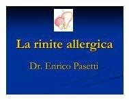 La rinite allergica - Aicod