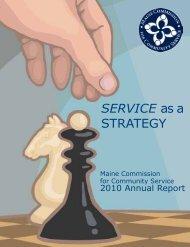 2010 Annual Report - VolunteerMaine.org