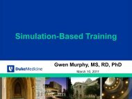 Simulation-Based Training