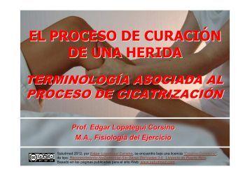 EL PROCESO DE CURACIÓN DE UNA HERIDA - Saludmed