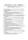 Nutrition and Oral Medicine (Nutrition and Health) - Page 3