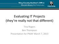 Evaluating IT Projects (they're really not that different)