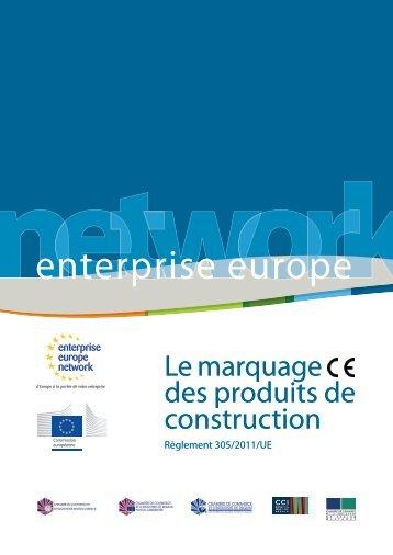 marquage CE sur les produits de construction - Lorraine.cci.fr