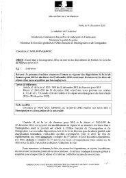 Circulaire INTV1243671C du 31 décembre 2012 relative aux taxes ...
