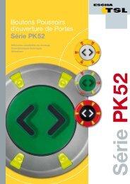 Door-Opening Buttons PK52 [.PDF] - Logo ESCHA TSL GmbH