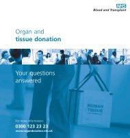 Your Questions Answered For - Organ Donation