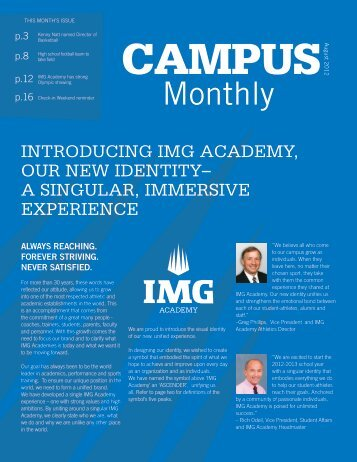 Monthly - IMG Academy