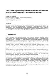 Application of genetic algorithms for optimal positions of source ...