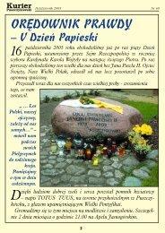 Kurier nr 48 - Stowarzyszenie Przyjaciół Puszczykowa