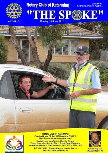 Vol 7-31-June 11 - Katanning Rotary Club