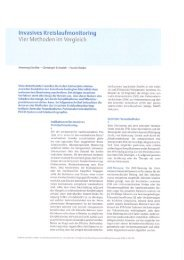 Invasives Kreislaufmonitoring - PULSION Medical Systems SE