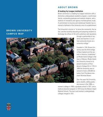 Campus Map - Brown University